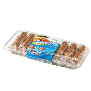 School Safe - Chocolate Chip Cookie Bars - Dairy free - Peanut free - Tree nut free - 8 pack tray