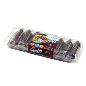 School Safe - Chocolicious Cookie Bars - 8 pack tray