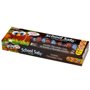 School Safe - Double Chocolate Cookies - Dairy free - Peanut free - Tree nut free - 8 pack box