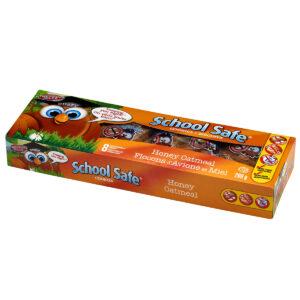 School Safe - Honey Oatmeal Cookies - Dairy free - Peanut free - Tree nut free - 8 pack box