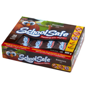 School Safe - Brownie Bars - Dairy free - Peanut free - Tree nut free - 20 pack box