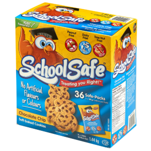 School Safe Chocolate Chip Soft-baked Cookies 36-pack