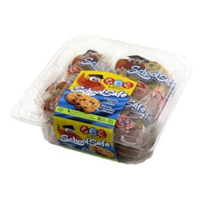 27411 - School Safe Chocolate Chip Cookies 16pk Tub